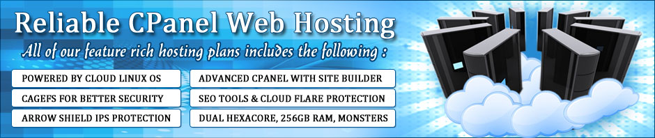 Reliable CPanel Web Hosting Plans